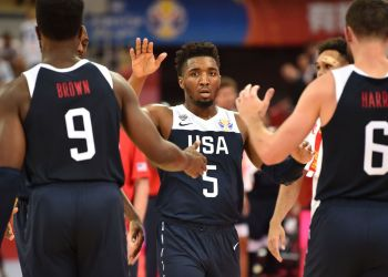 The USA were relieved to come away with an overtime victory against Turkey