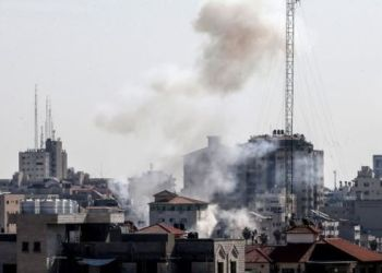 Israel carried out waves of air strikes on what it says were PIJ sites in Gaza
