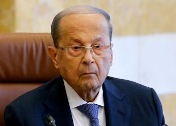 FILE PHOTO: Lebanon's President Michel Aoun presides a cabinet session at the Baabda palace, Lebanon October 21, 2019. REUTERS/Mohamed Azakir