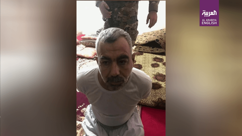 The ISIS leader known as 'Abu Khaldoun' was captured by Iraqi police in Kirkuk. (Supplied via Iraqi Security Media Cell)