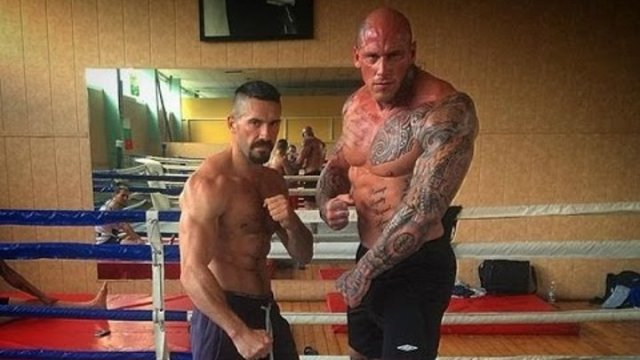 Scott Adkins Vs Martyn Ford