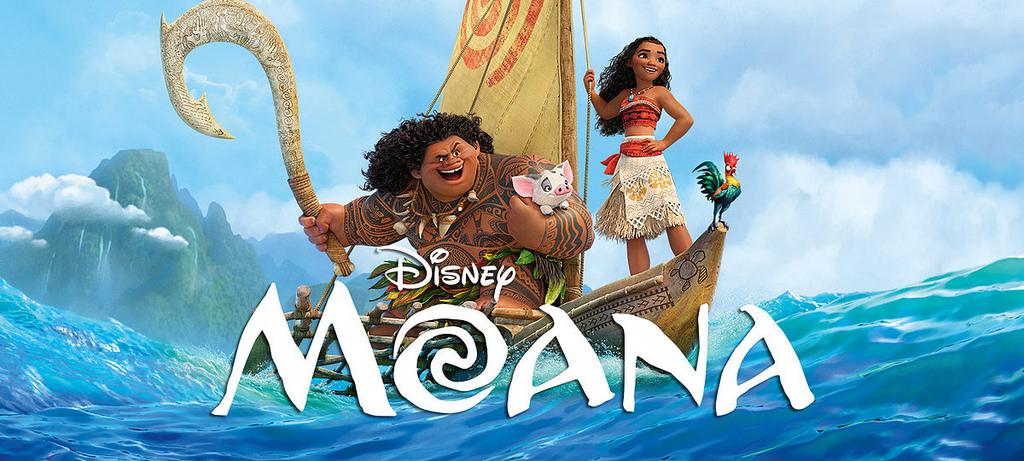 Moana is on Netflix