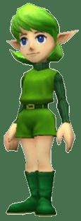 Saria_Ocarina of Time_3DS
