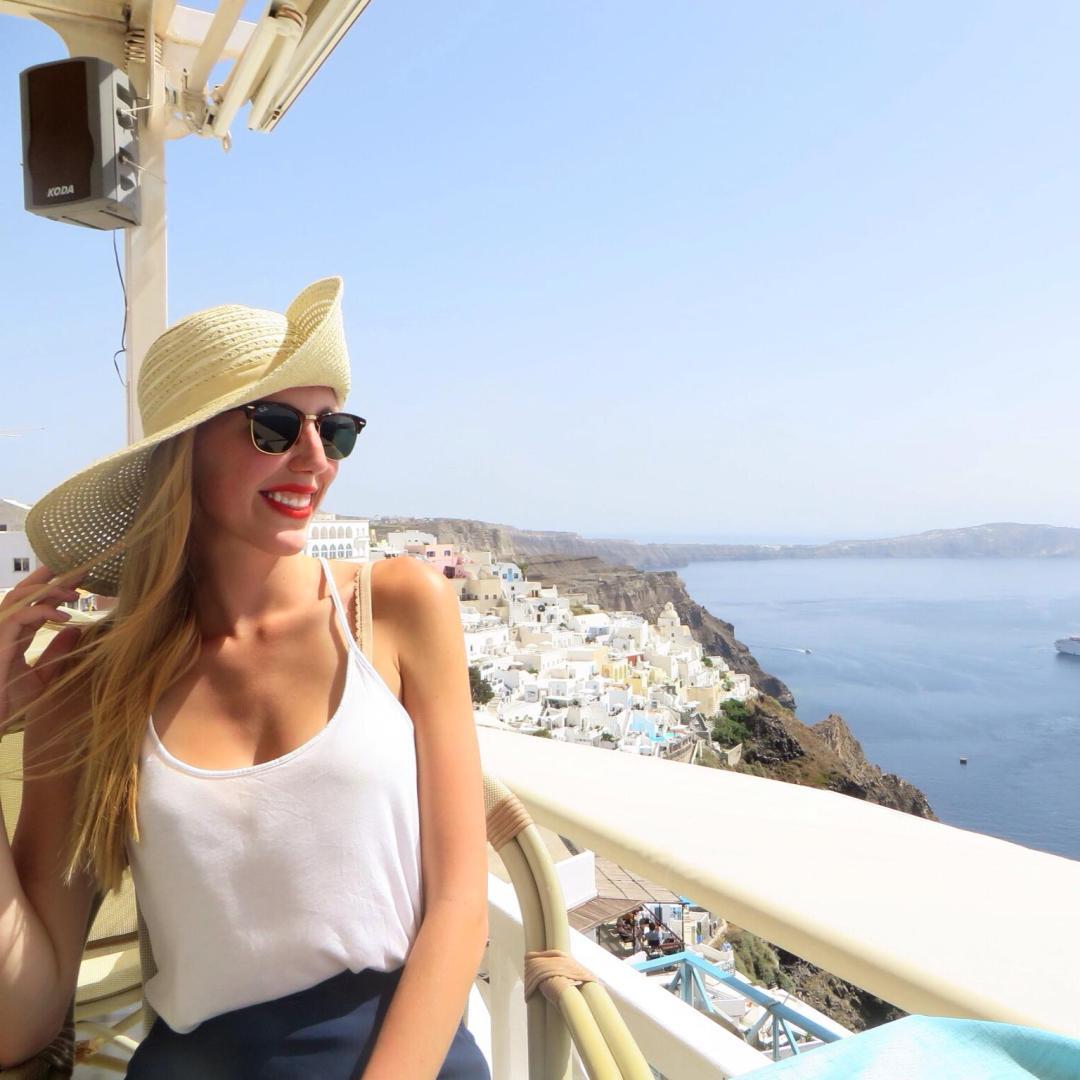 Santorini Greek Restaurant Views