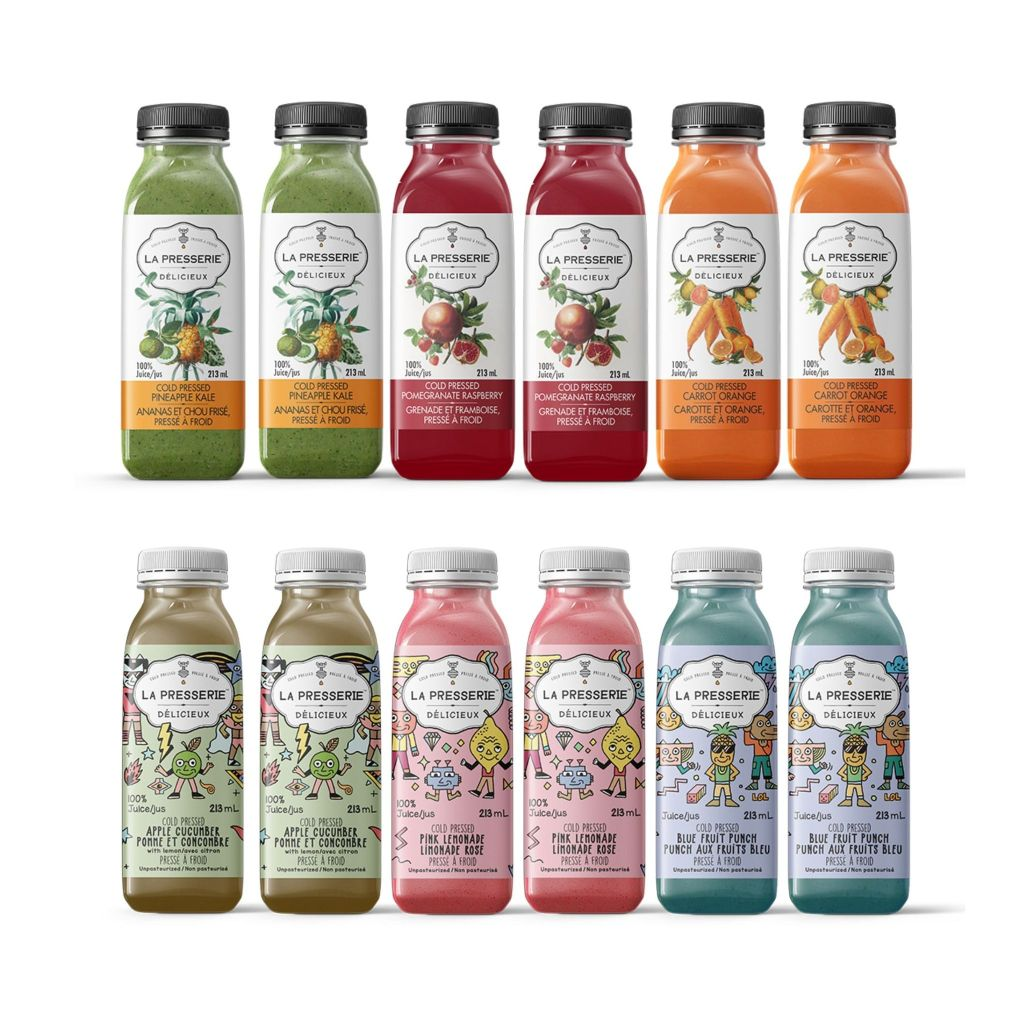 Cold Pressed Juice Delivery La Presserie