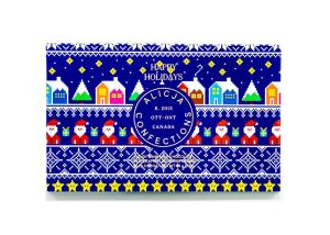 Alicja Confections Postcard Chocolate Bar
