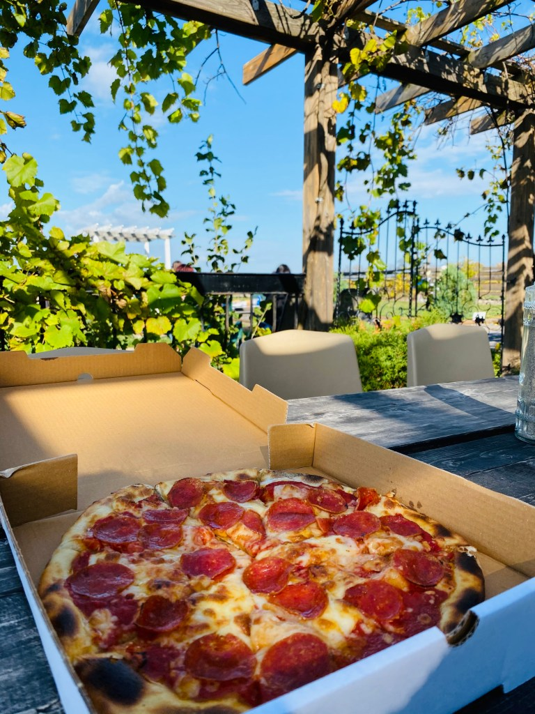 TerraCello Winery Pizza