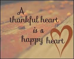 To be Grateful