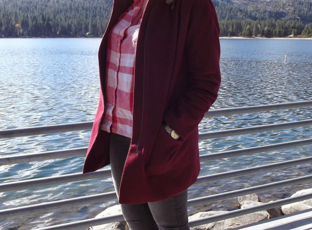 Bundled Up At Donner Lake