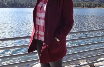Bundled Up At Donner Lake