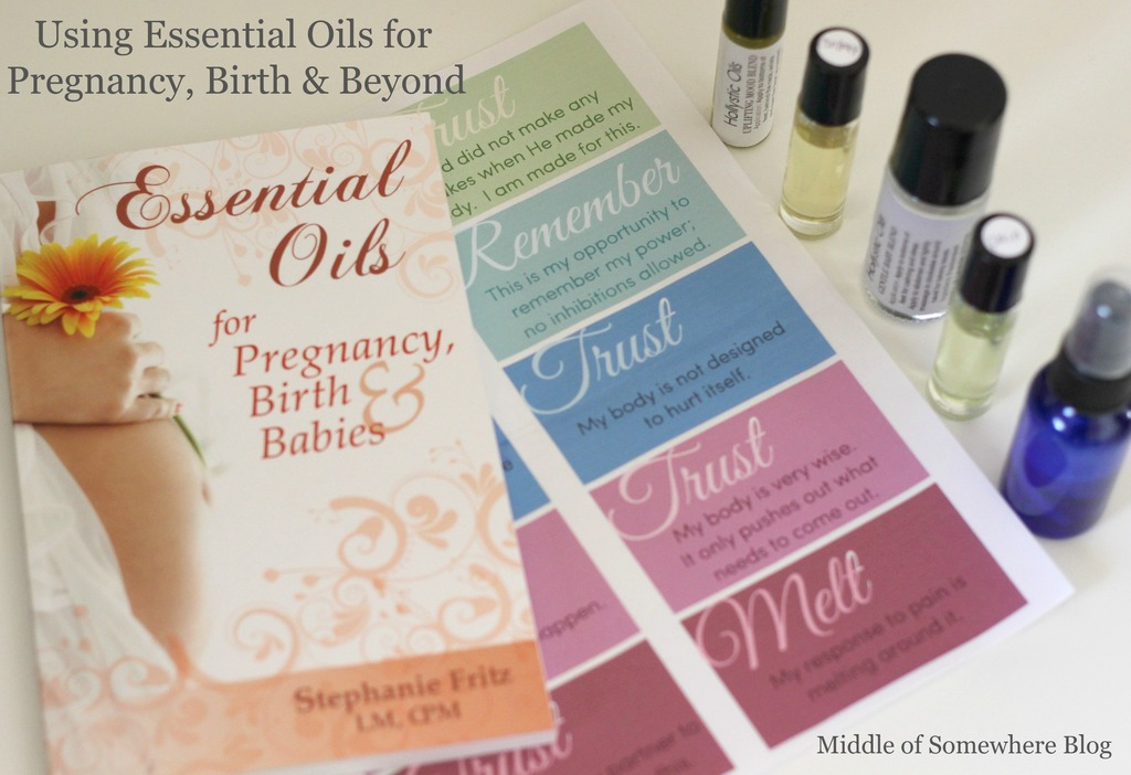 Essential Oils for Pregnancy and Beyond + Giveaway!