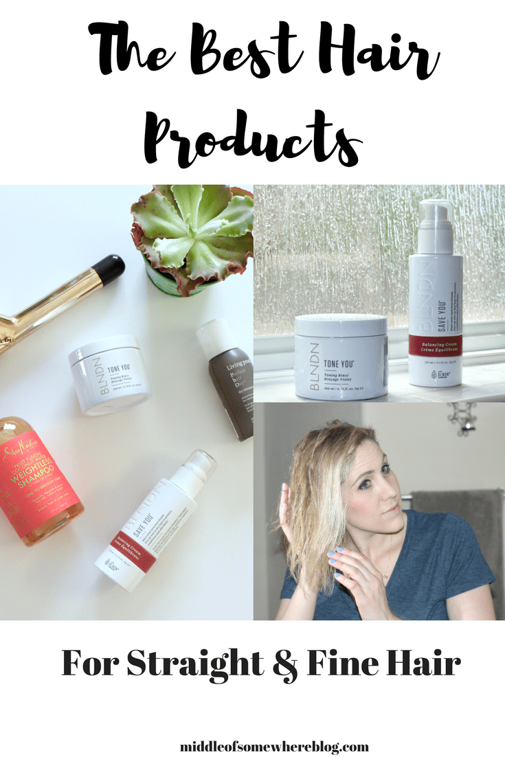 best products for straight and fine hair