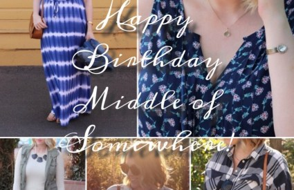 Happy 2nd Birthday, Middle of Somewhere + Giveaway!