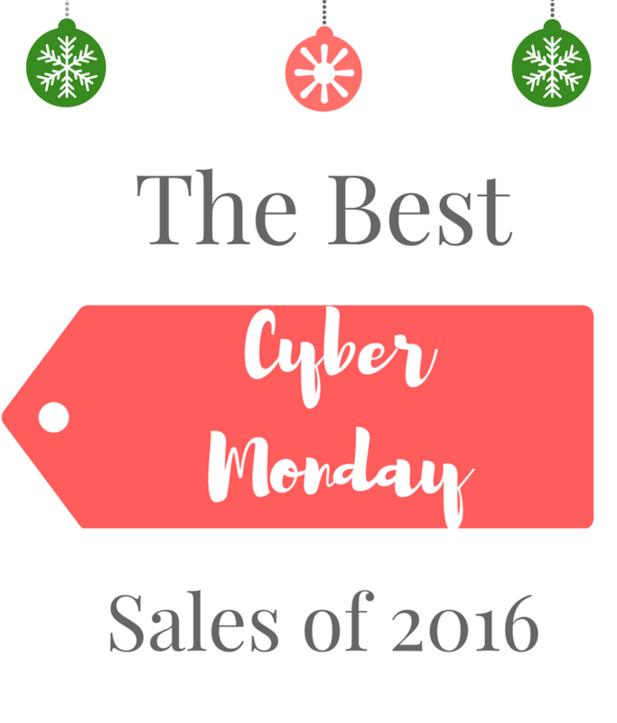 The BEST Cyber Monday Sales of 2016