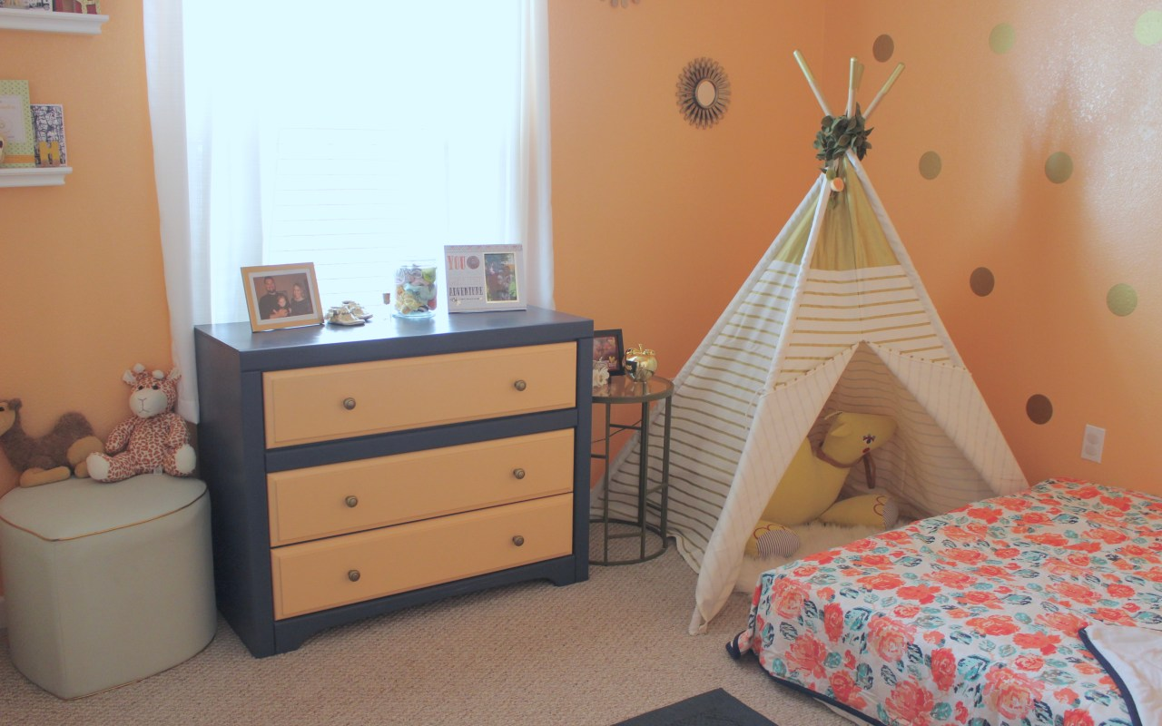 Harper's Montessori-Style Toddler Bedroom