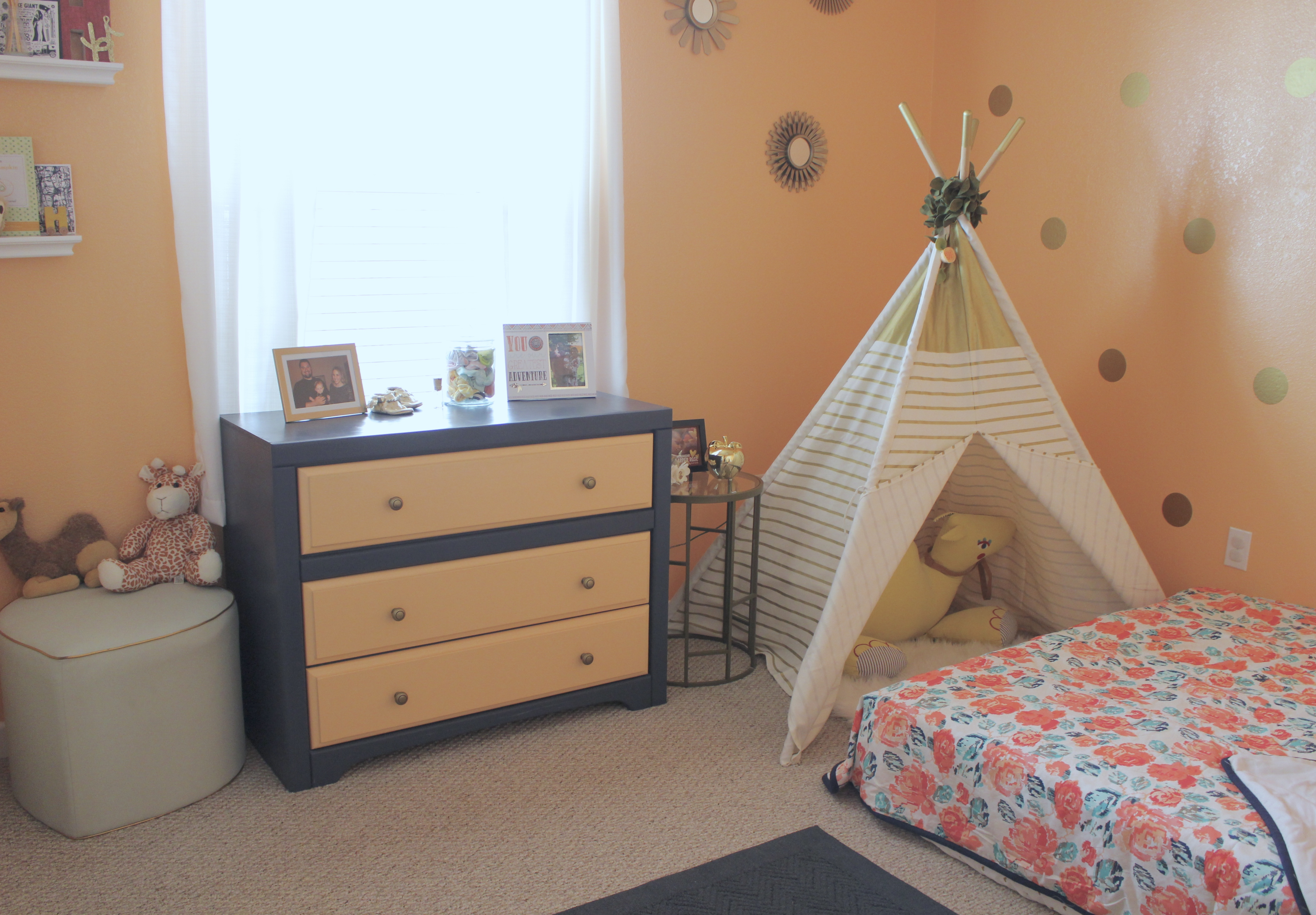 Harper\'s Montessori-Style Toddler Bedroom - Middle of Somewhere