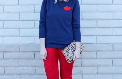 Easy Valentine's Day Outfit & The Weekly Style Edit Link Up