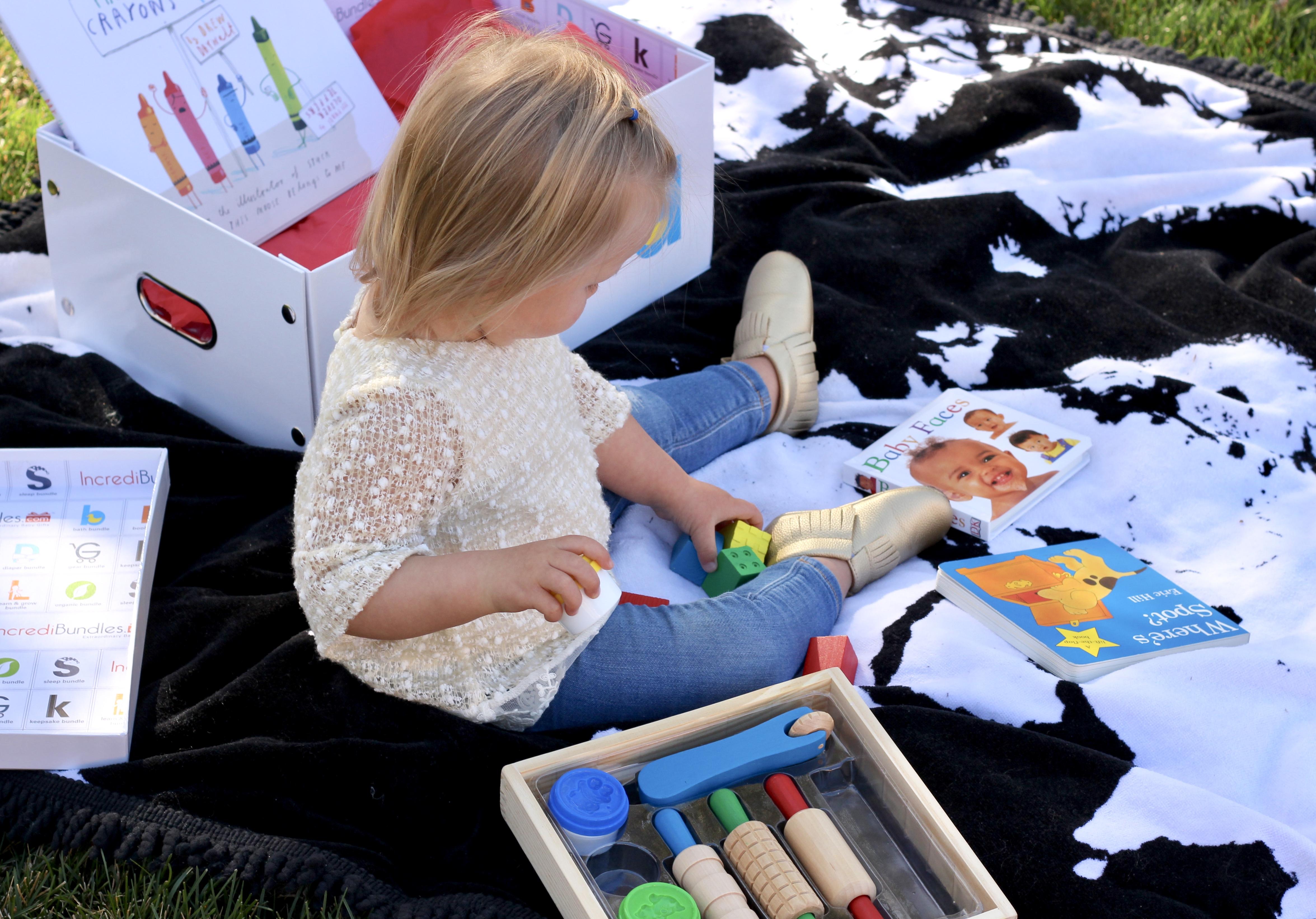 Incredibundles gift box for toddlers