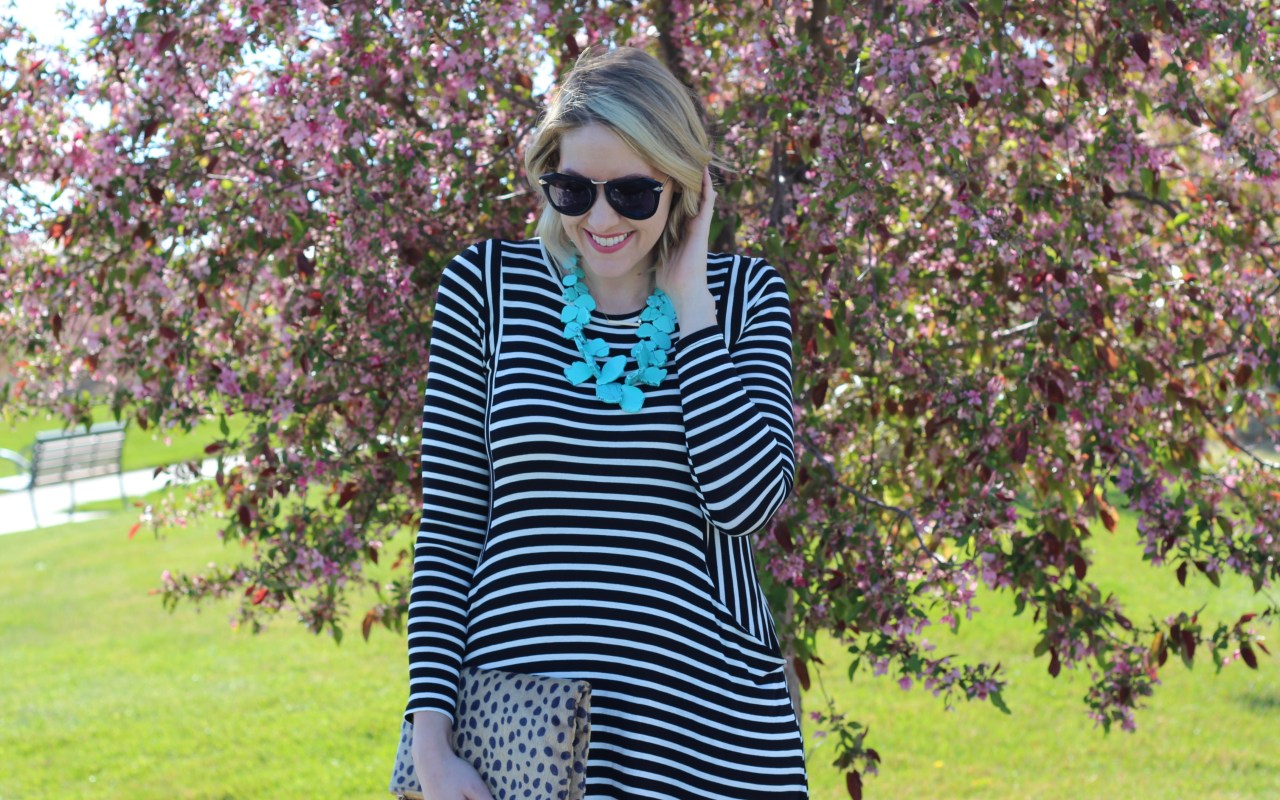 Striped Midi Dress + The Weekly Style Edit Link Up