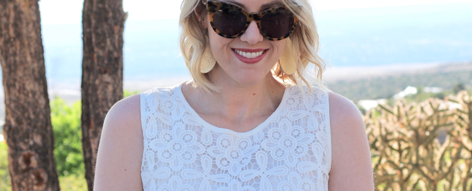 Lace Peplum Top & The Weekly Style Edit Link Up