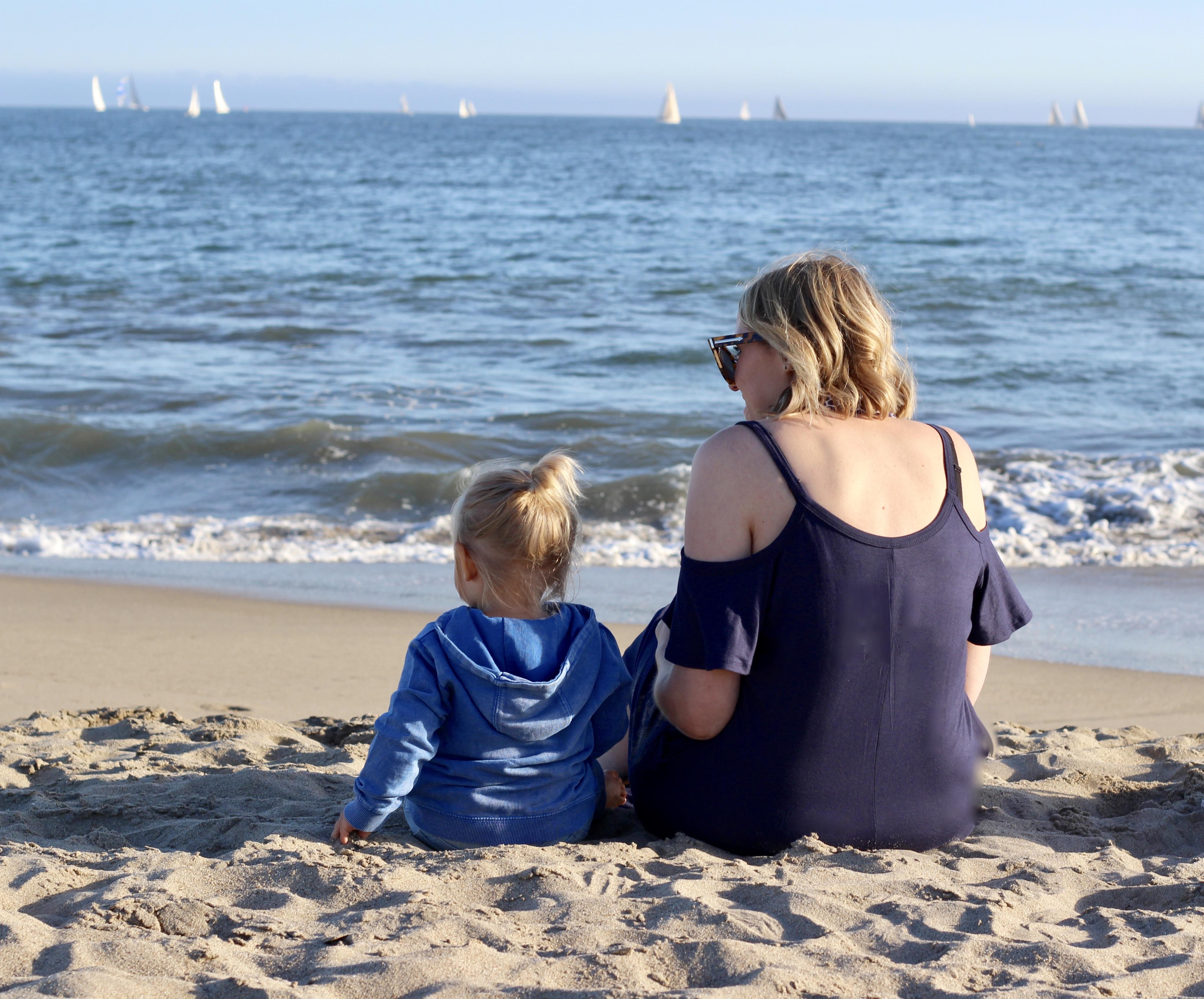 seabright state beach in santa cruz