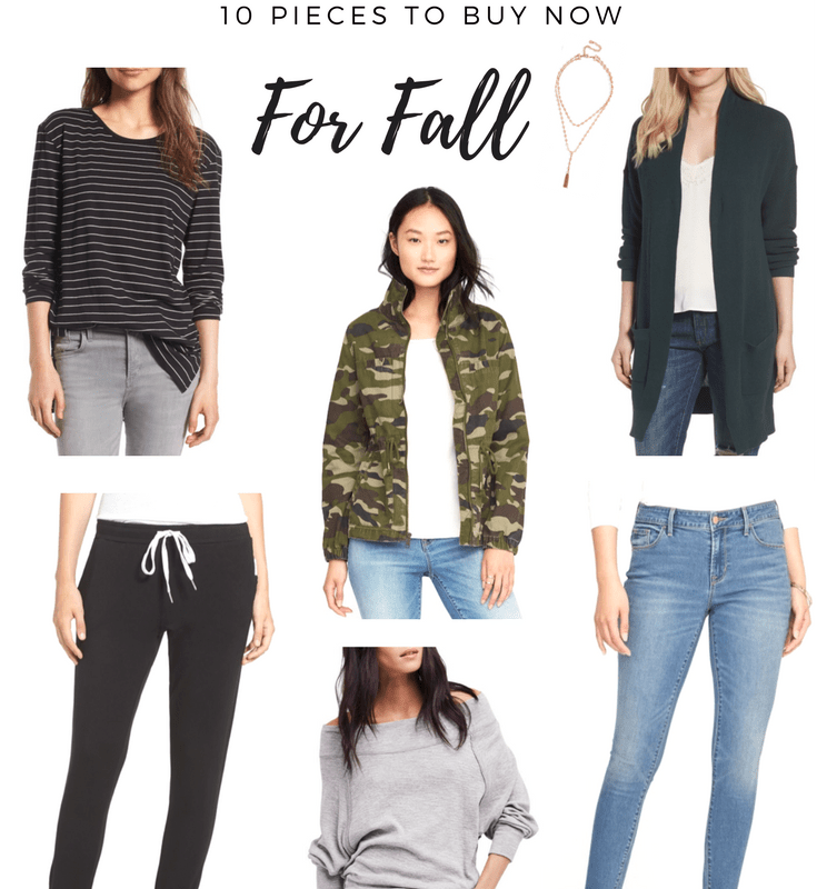 10 Pieces to Buy Now for Fall