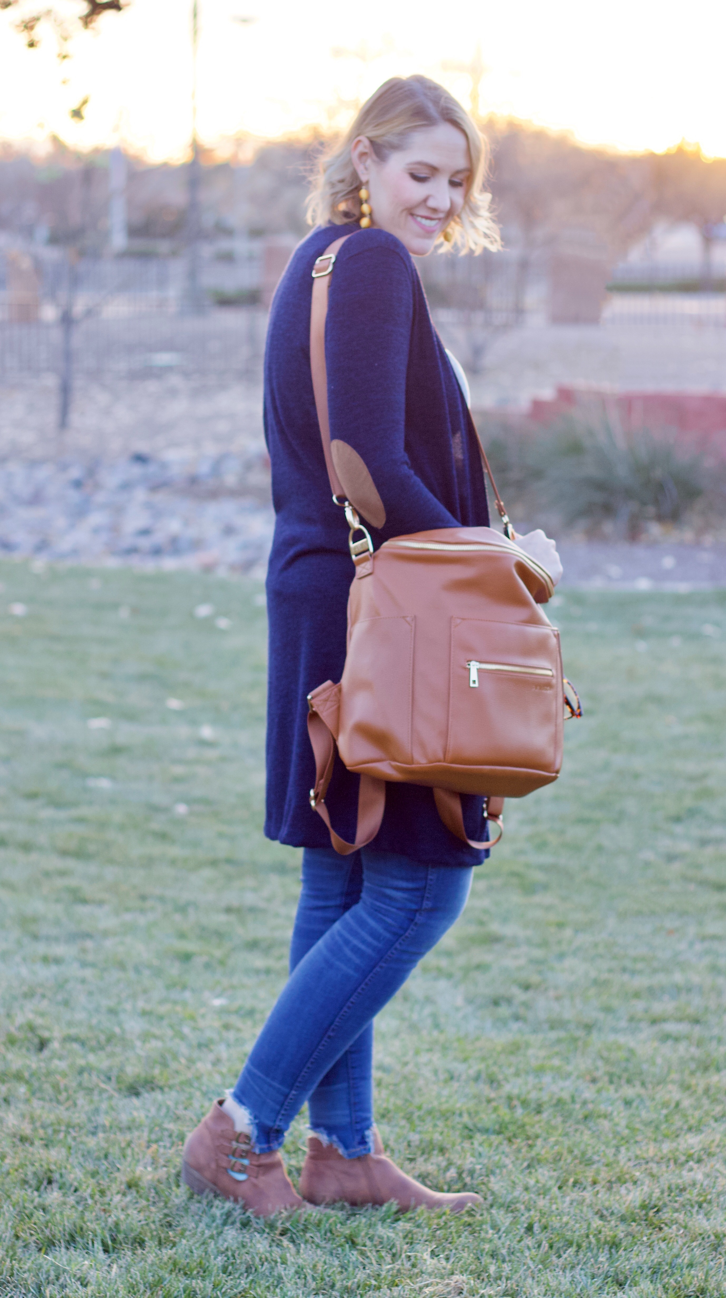 fawn design bag mom style