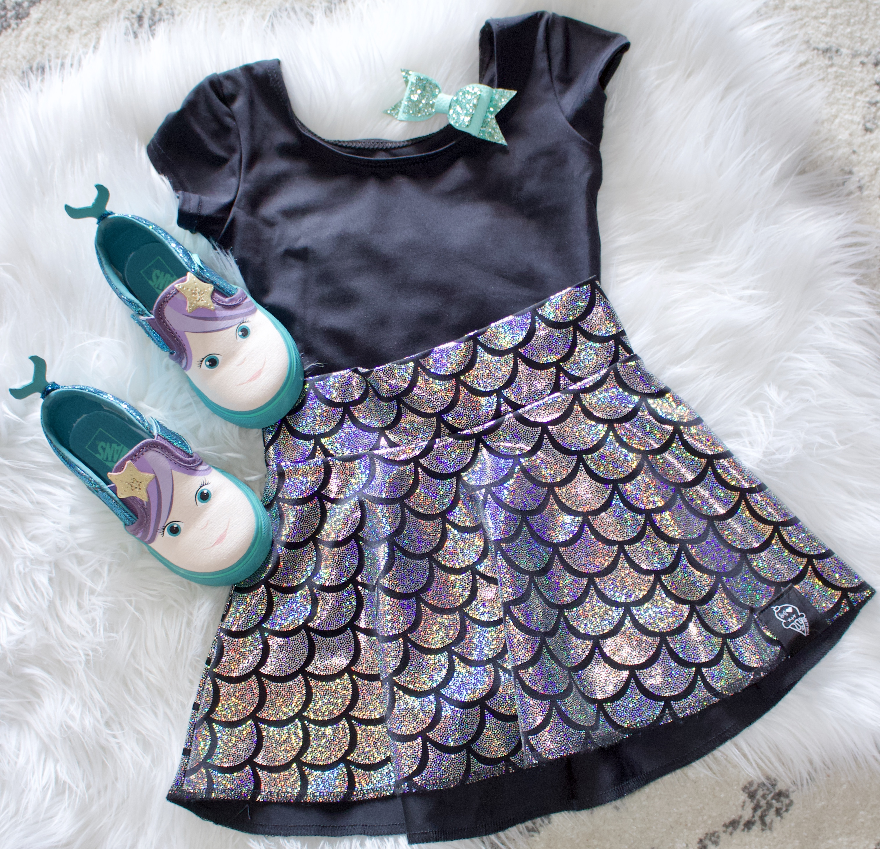 mermaid birthday party toddler outfit #birthdayparty #mermaidoutfit #kidsfashion #toddlerstyle