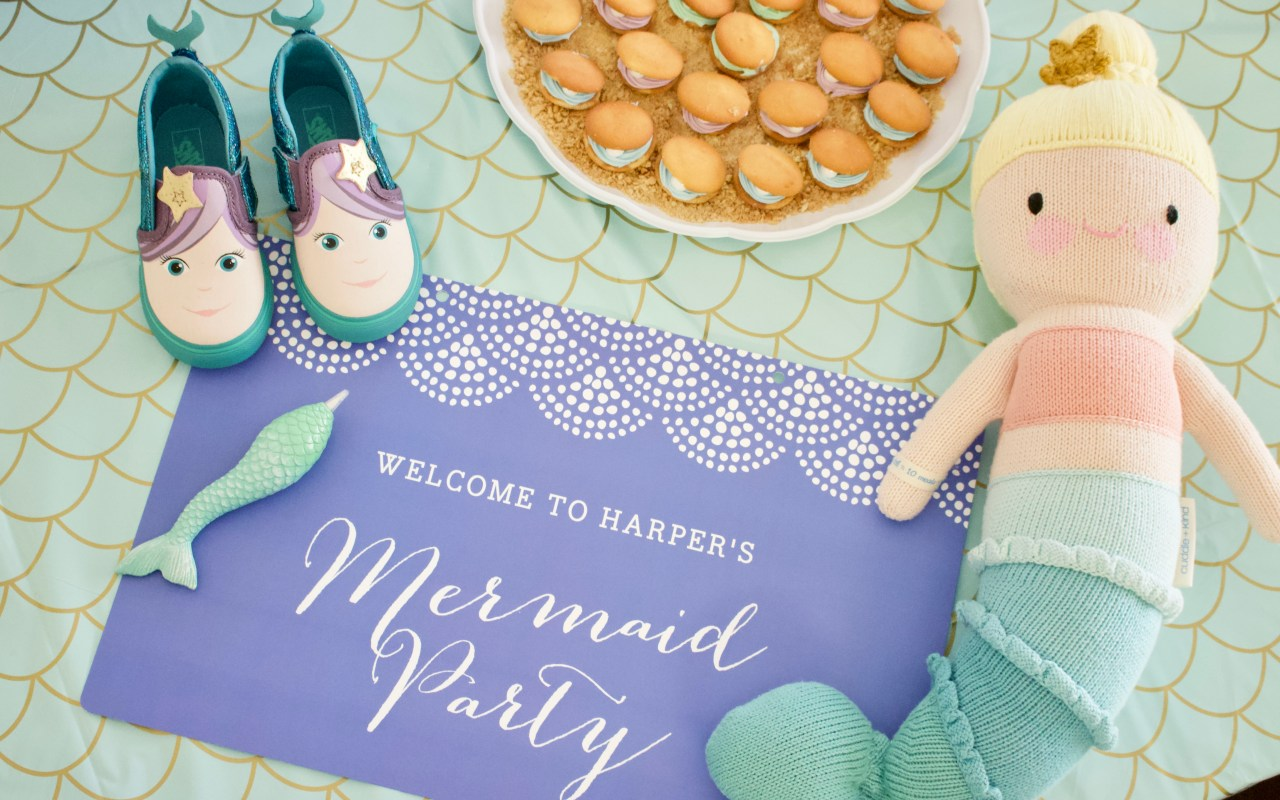 Harper's Mermaid Themed 3rd Birthday Party