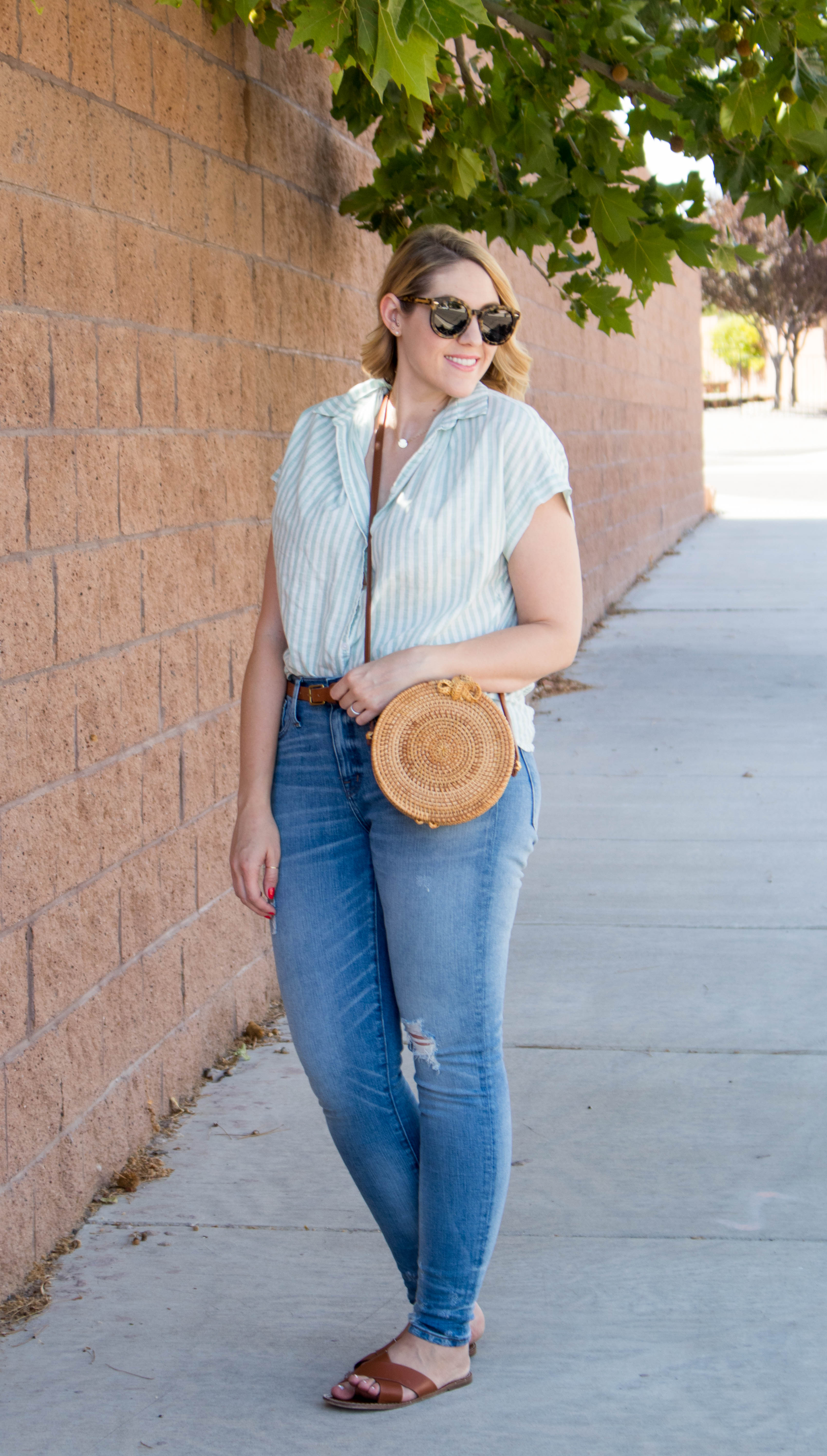 cute madewell summer outfit #madewell #everydaymadewell #summerstyle #summeroutfit