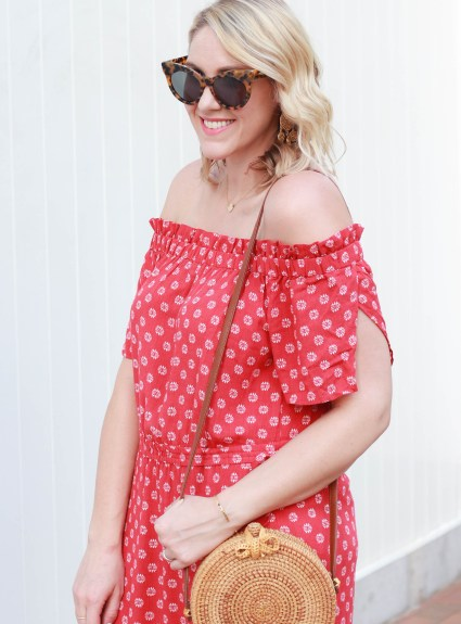Red Floral Maxi Dress: The Weekly Style Edit