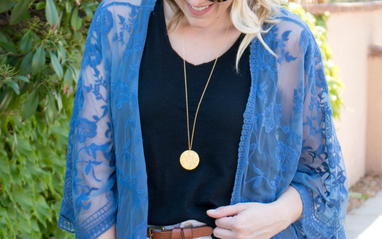 Lace Kimono: The Weekly Style Edit
