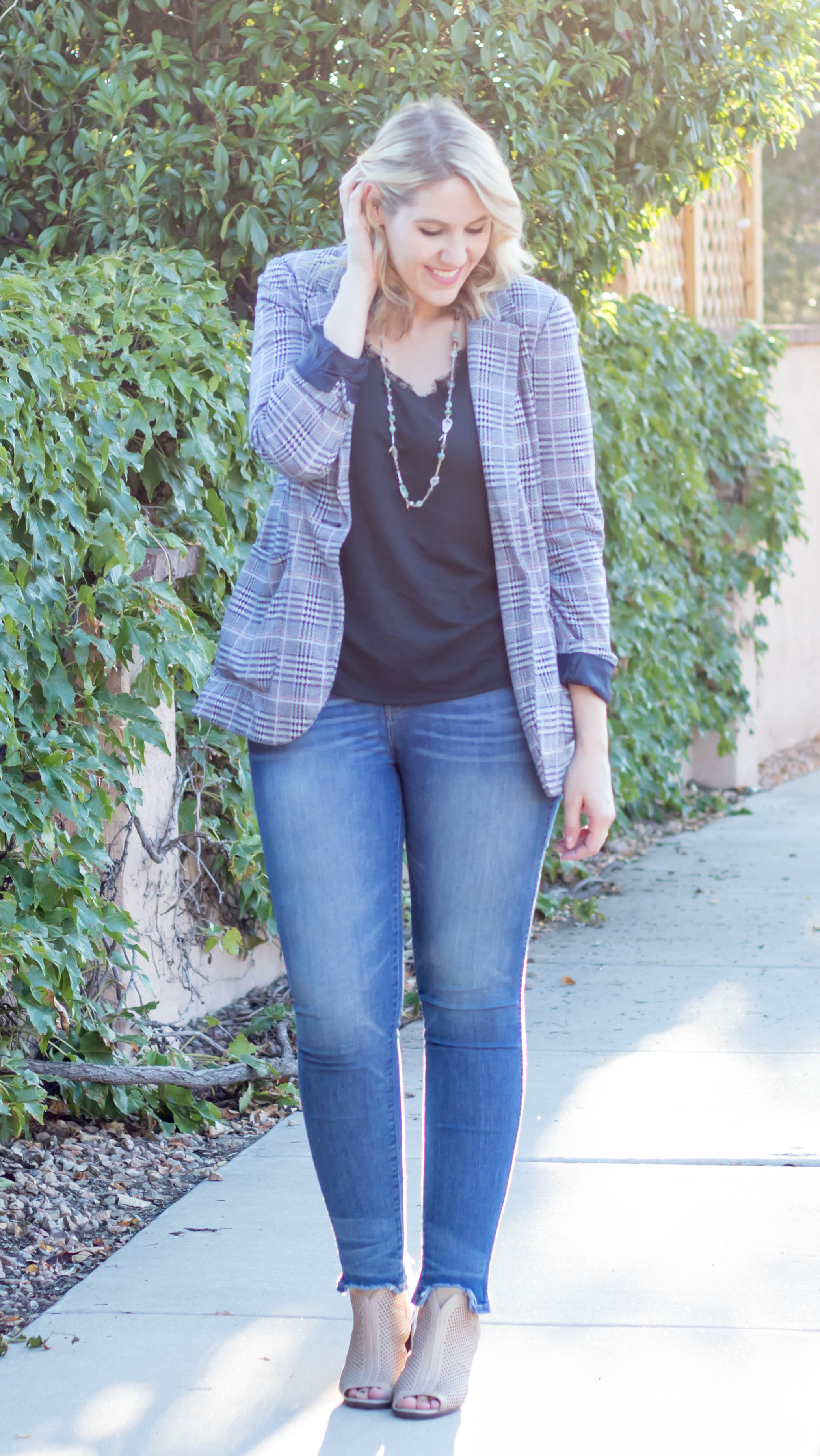madewell jeans outfit #madewell #blazer #fallfashion #fall