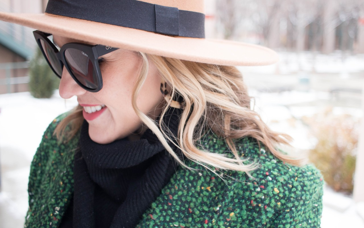 how to wear a wide brim hat #hat #winterstyle #theweeklystyleedit