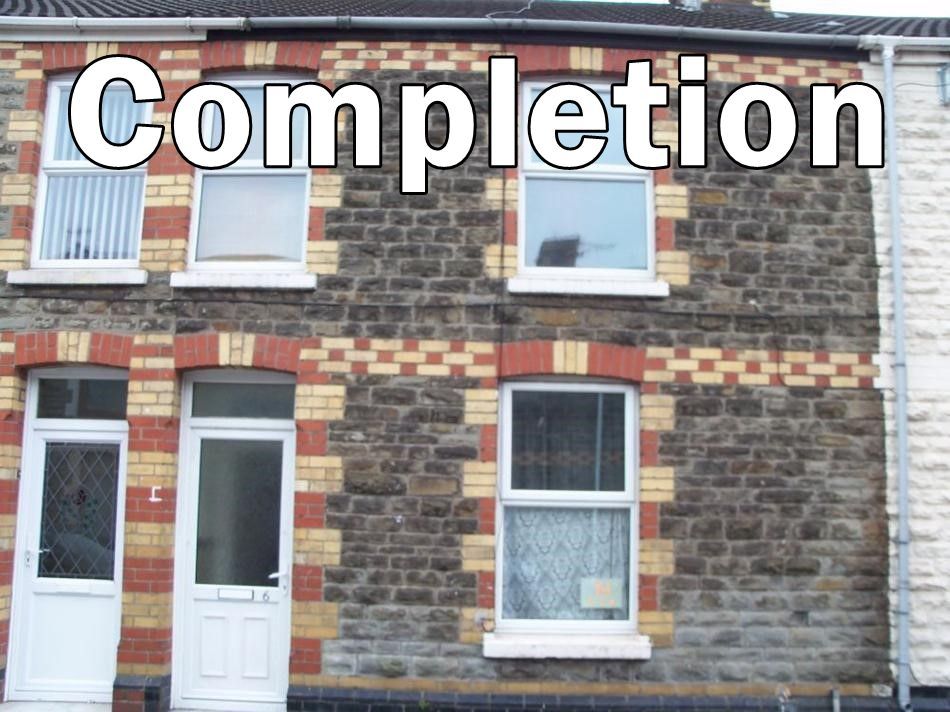 Picture of property with words completion