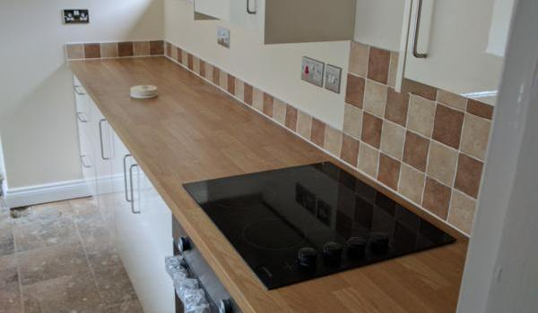 kitchen in a unfinished property