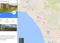 Port Talbot Google map screen shot