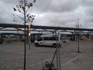 port talbot train station works