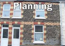 Gwendoline St building with Planning written over it