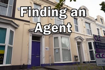 """Walter Rd prop with """"finding an agent"""""""