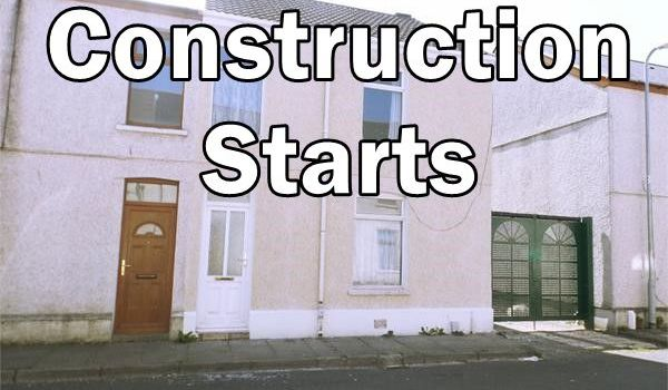Blodwen St construction starts