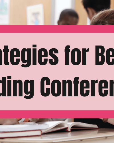 Strategies for better reading conferences