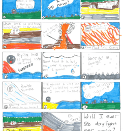 Ride the Rock Cycle – Comic Strip Adventure – Middle School Science Blog [ 1114 x 888 Pixel ]