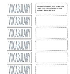 Vocabulary Bundle – Google Draw Template for Cut \u0026 Paste Activities – Middle  School Science Blog [ 1056 x 816 Pixel ]