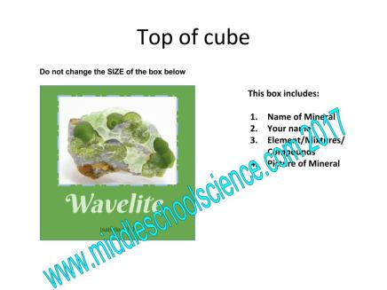 Top of Cube