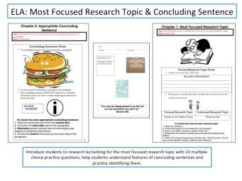 Research paper activities high school