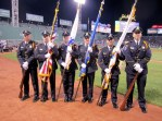 Billerica Police Honor Guard at Fenway Park
