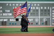 Medford Police Honor Guard at Fenway Park