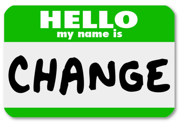 Change Is Not A Dirty Word – It is A Major Business Imperative