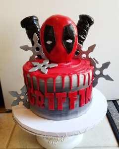 deadpool cake 2